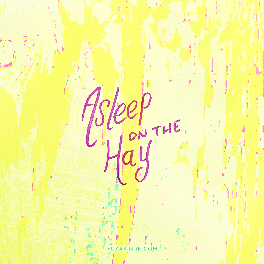 lettering2017-christmas-asleeponthehay