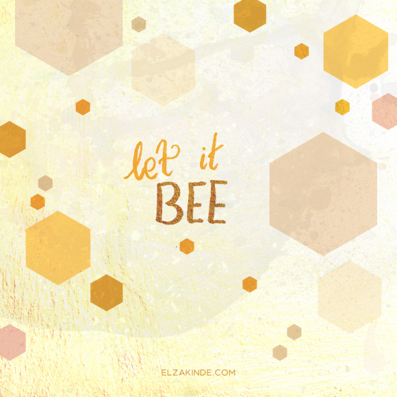 lettering2018-quote-letitbee