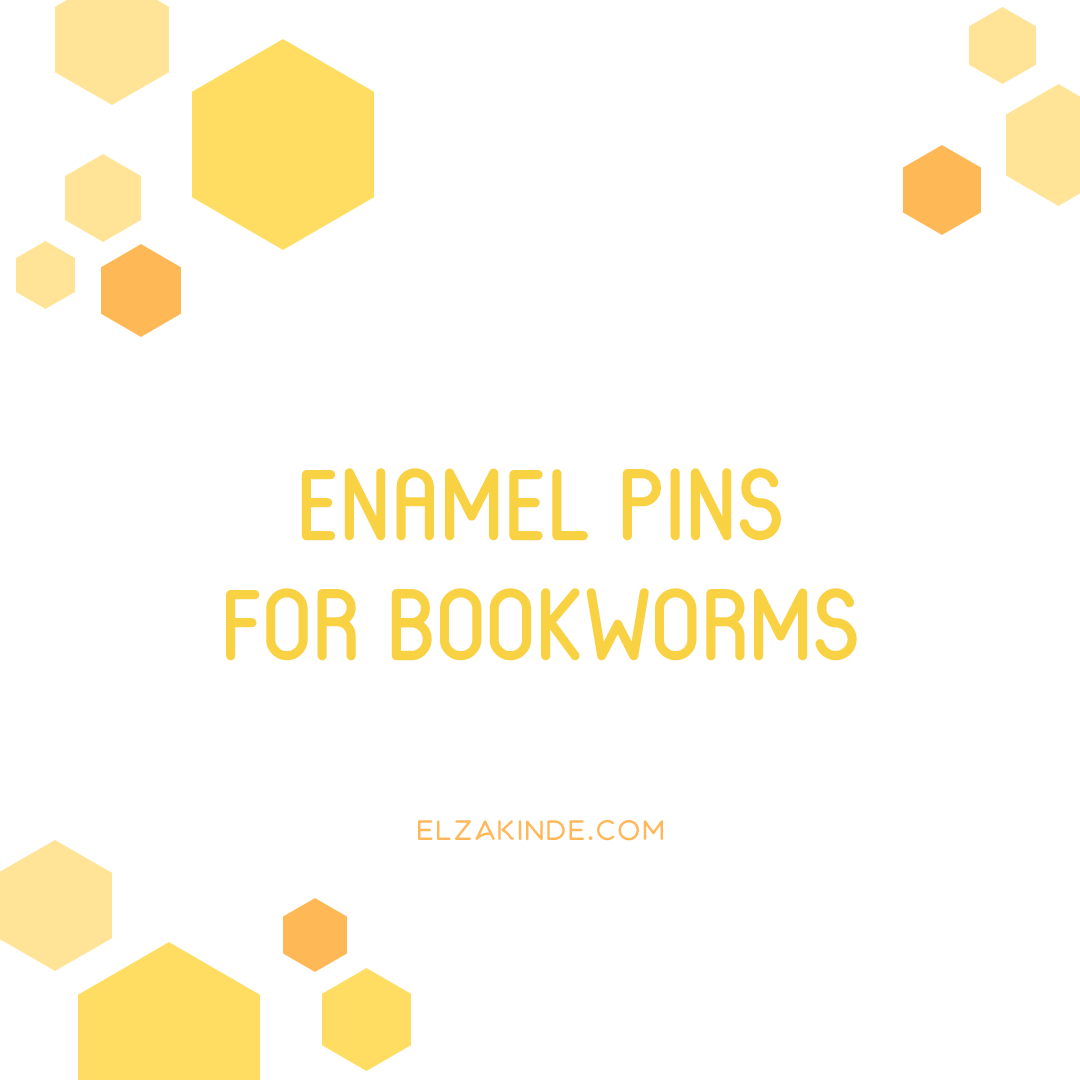 Enamel Pins for Bookworms
