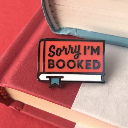 Pin: Sorry, I'm Booked