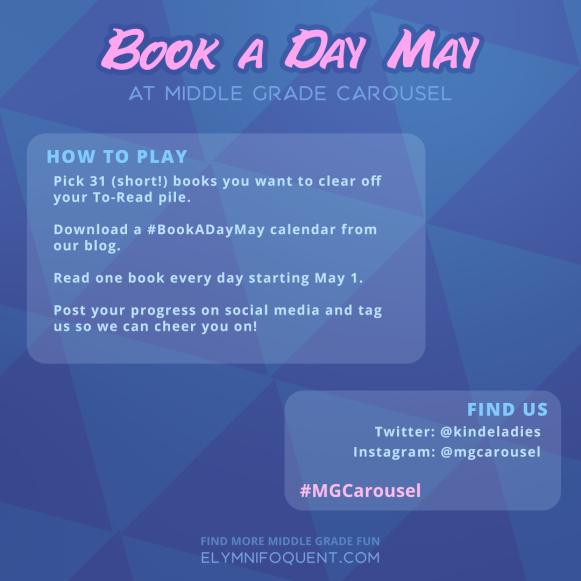 #BookADayMay challenge rules