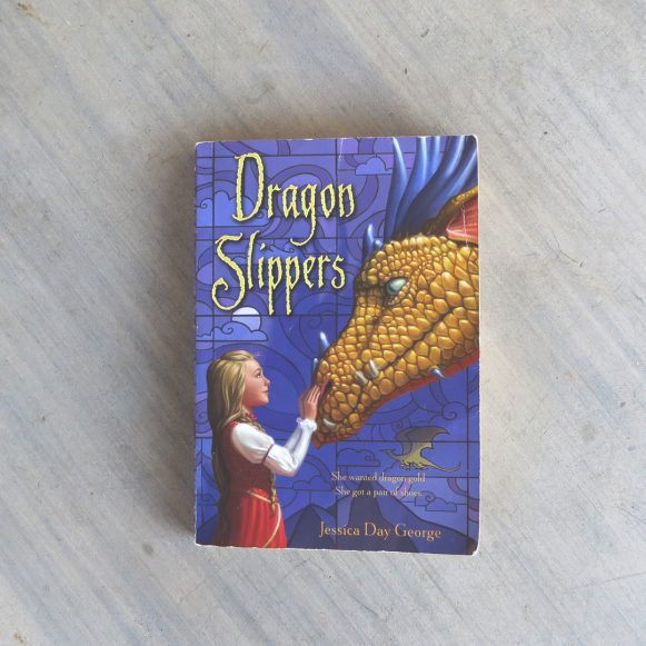 Photograph of Dragon Slippers by Jessica Day George