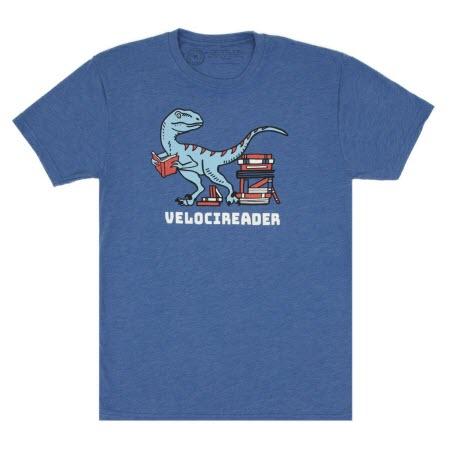 """T-Shirt: """"velocireader"""""""