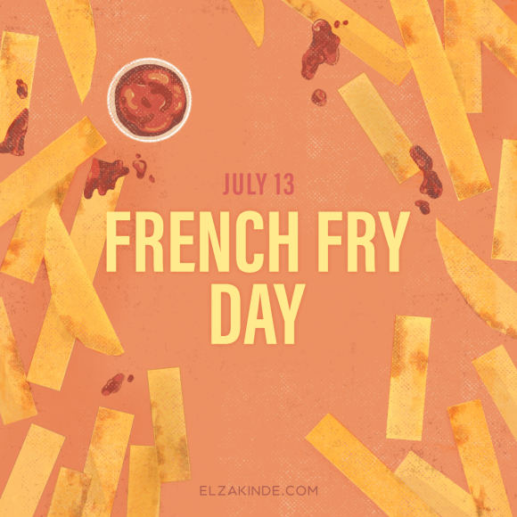 July 13 is National French Fry Day