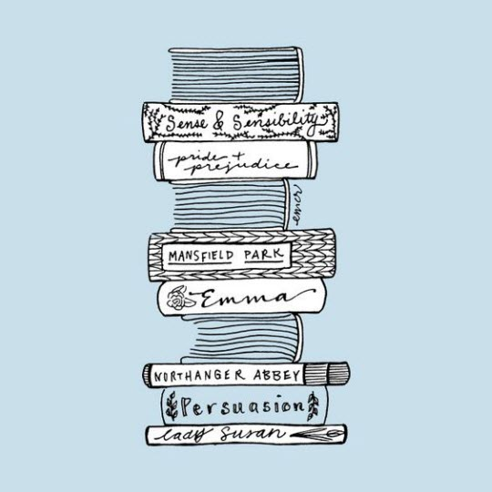 Art featuring Jane Austen's novels