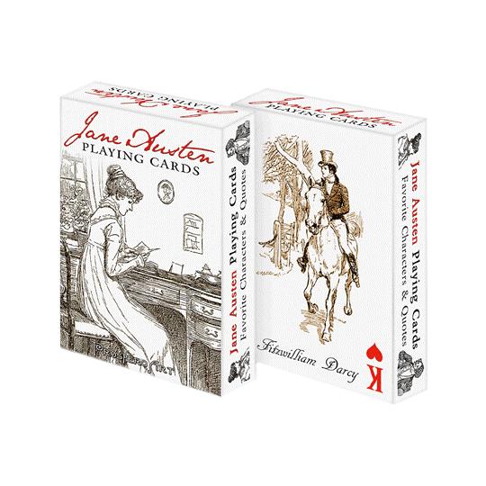 Jane Austen playing cards