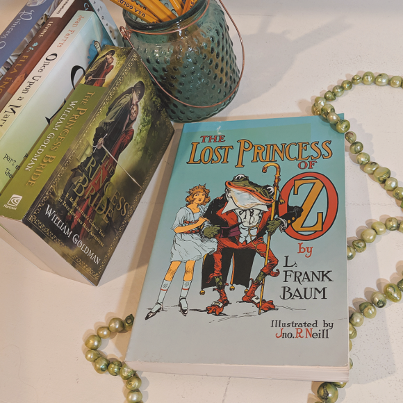 Bookstagram photo featuring The Lost Princess of Oz by L. Frank Baum