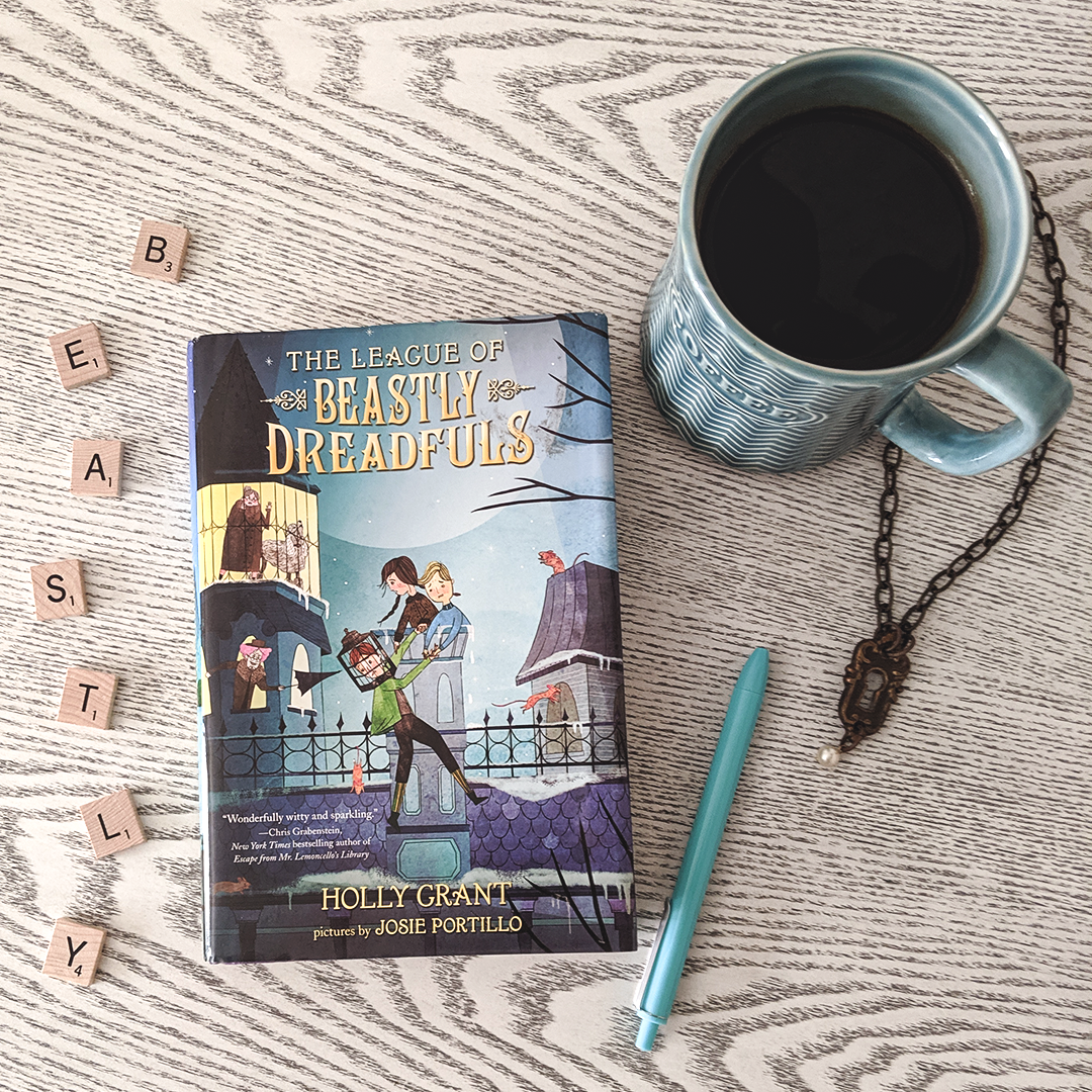 Bookstagram photo featuring The League of Beastly Dreadfuls by Holly Grant