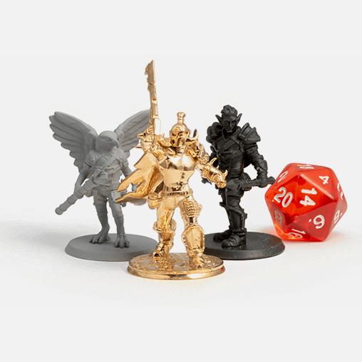 D&D miniature figurines