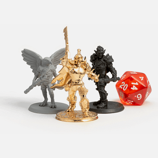 D&D miniature figurines