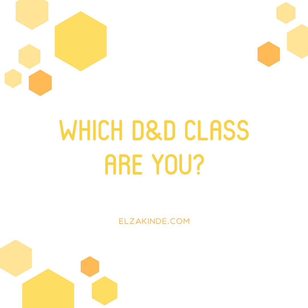Which D&D Class Are You?