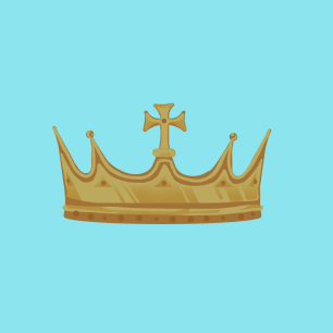 illustration of a crown (c) Elza Kinde
