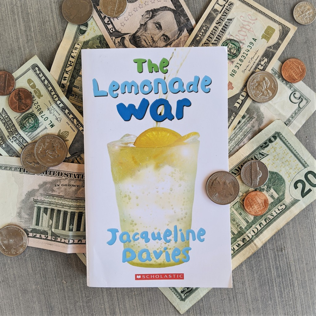 Bookstagram photo featuring The Lemonade War by Jacqueline Davies
