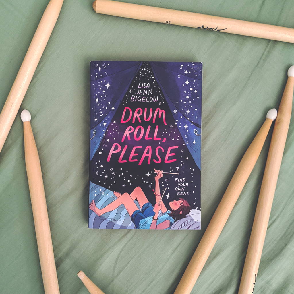 Bookstagram photo featuring Drum Roll, Please by Lisa Jenn Bigelow
