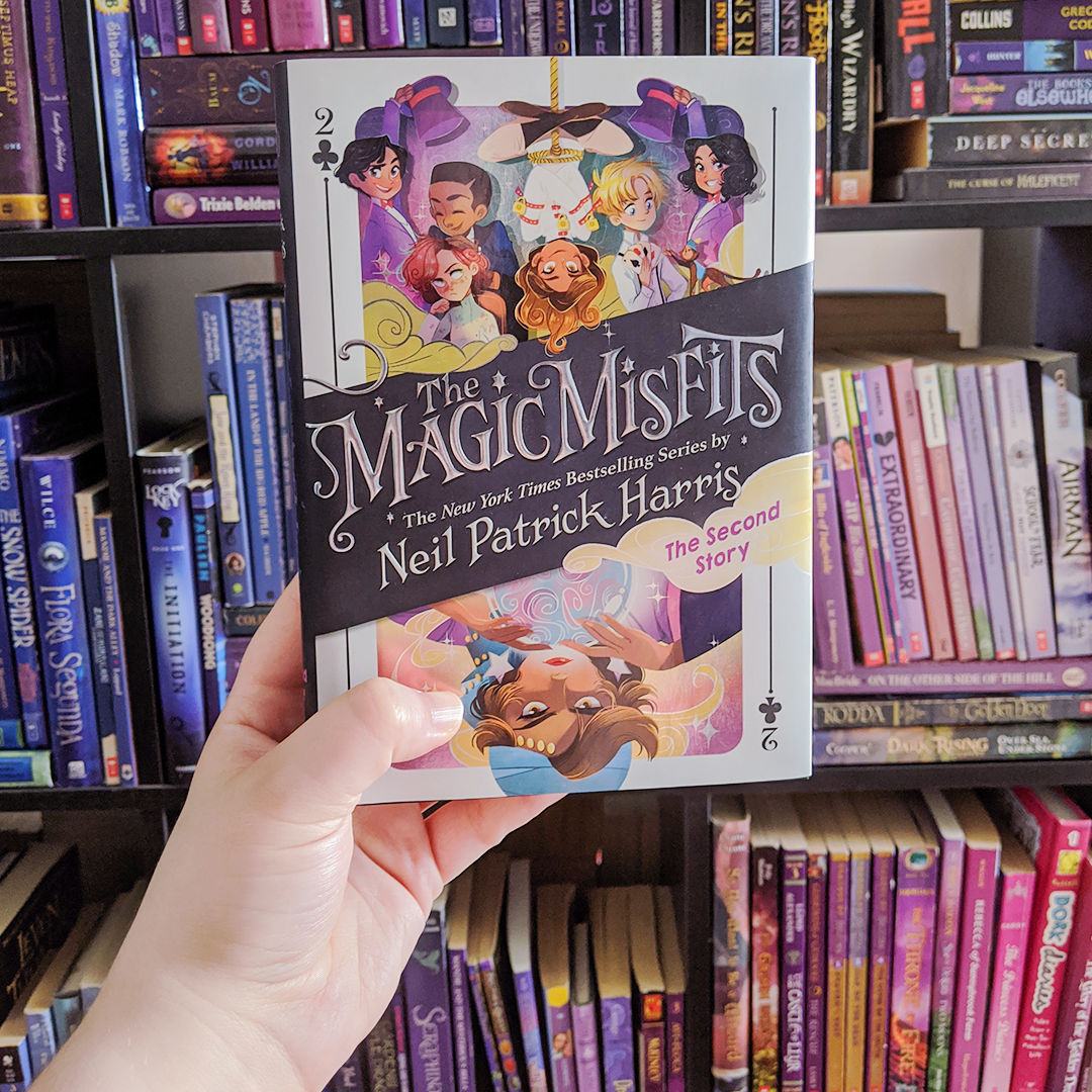 Bookstagram photo featuring The Magic Misfits: The Second Story by Neil Patrick Harris