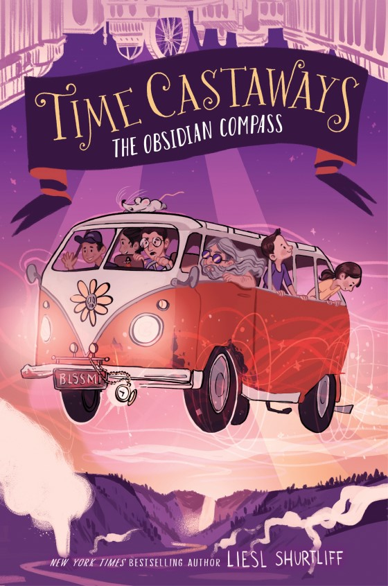 Time Castaways: The Obsidian Compass by Liesl Shurtliff