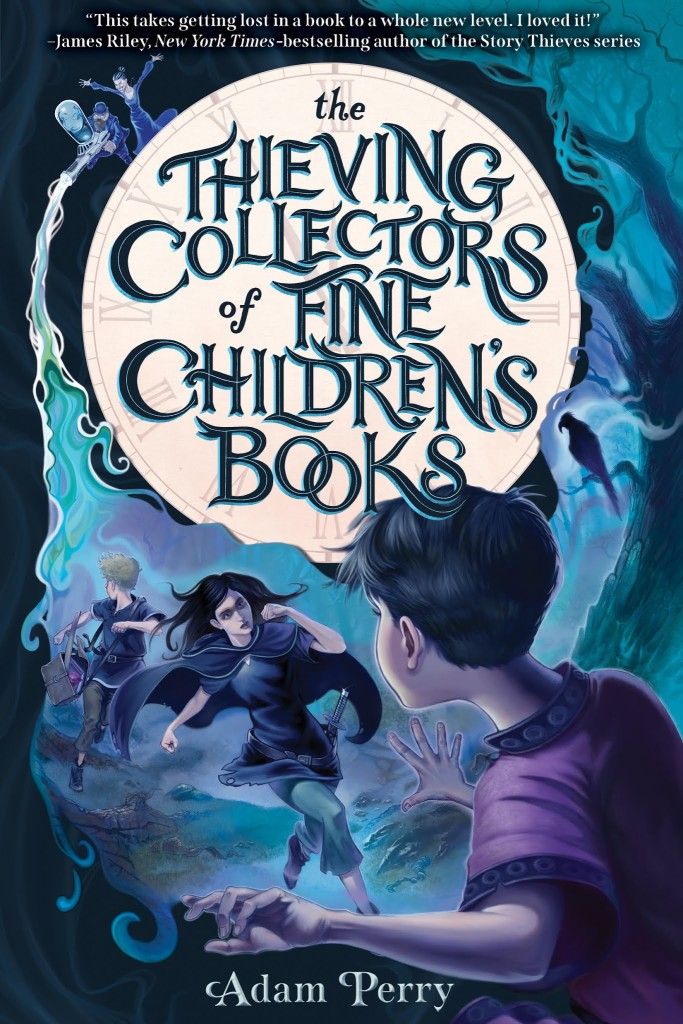The Thieving Collectors of Fine Children's Books by Adam Perry