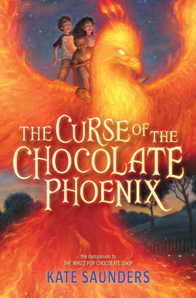 The Curse of the Chocolate Phoenix by Kate Saunders