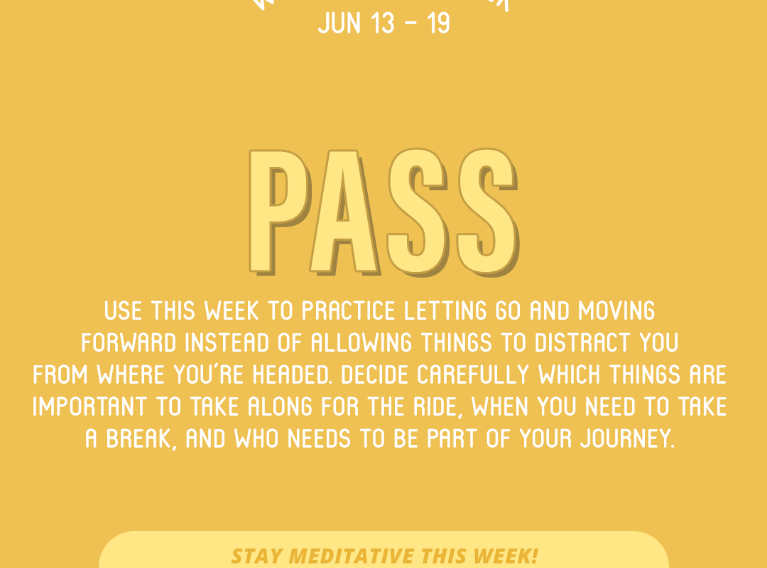 Word of the Week June 13-19: Pass