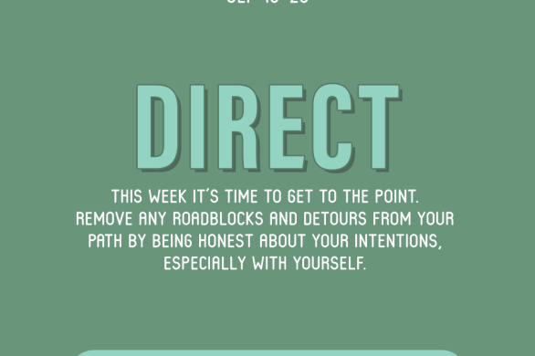 Word of the Week September 19-25: Direct